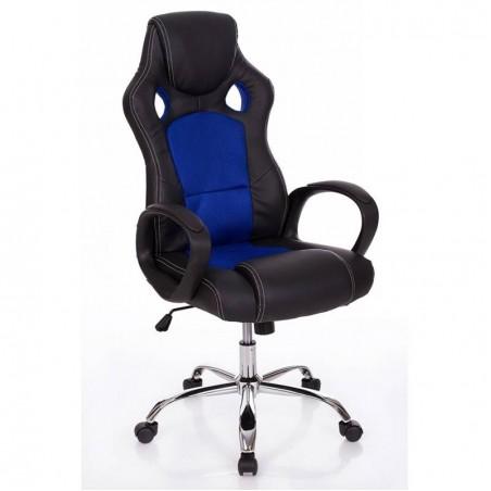 """Biroja krēsls """"F1 Blue"""""""